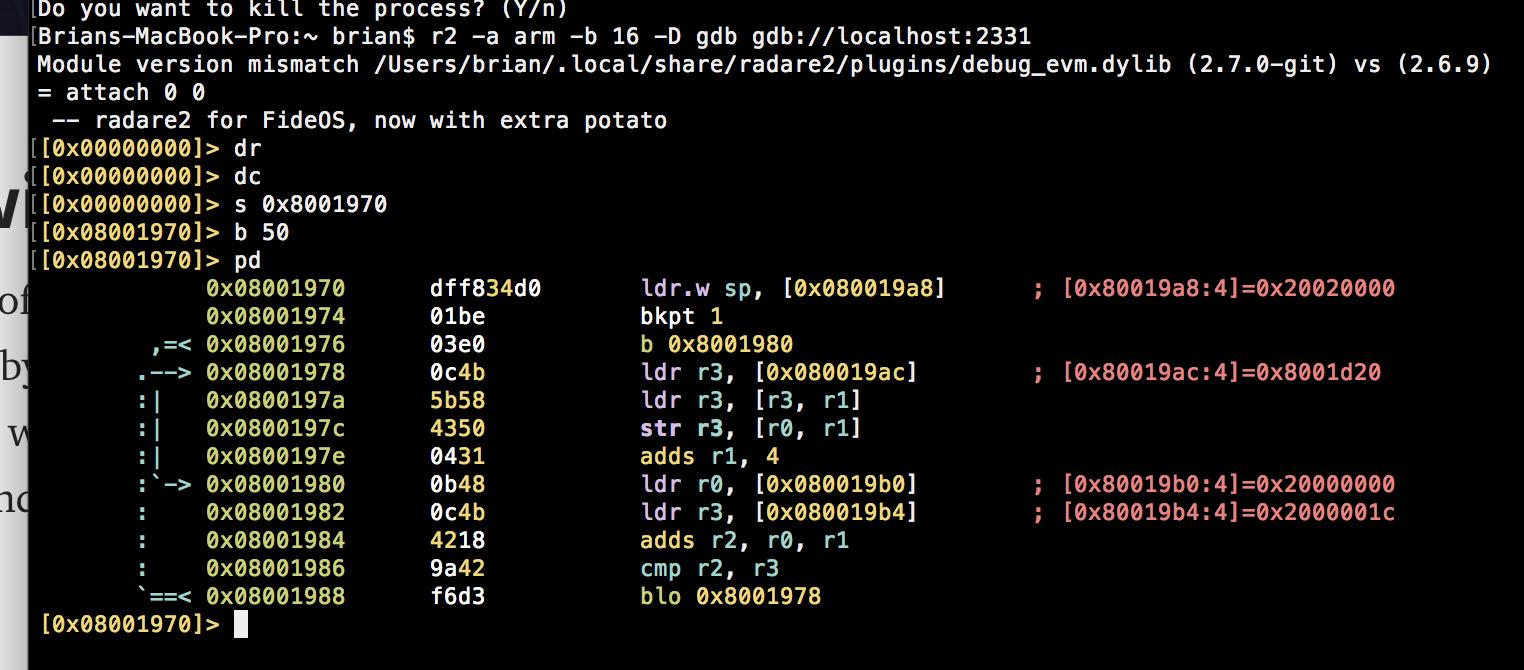 ARM Remote GDB not working · Issue #10578 · radare/radare2 · GitHub
