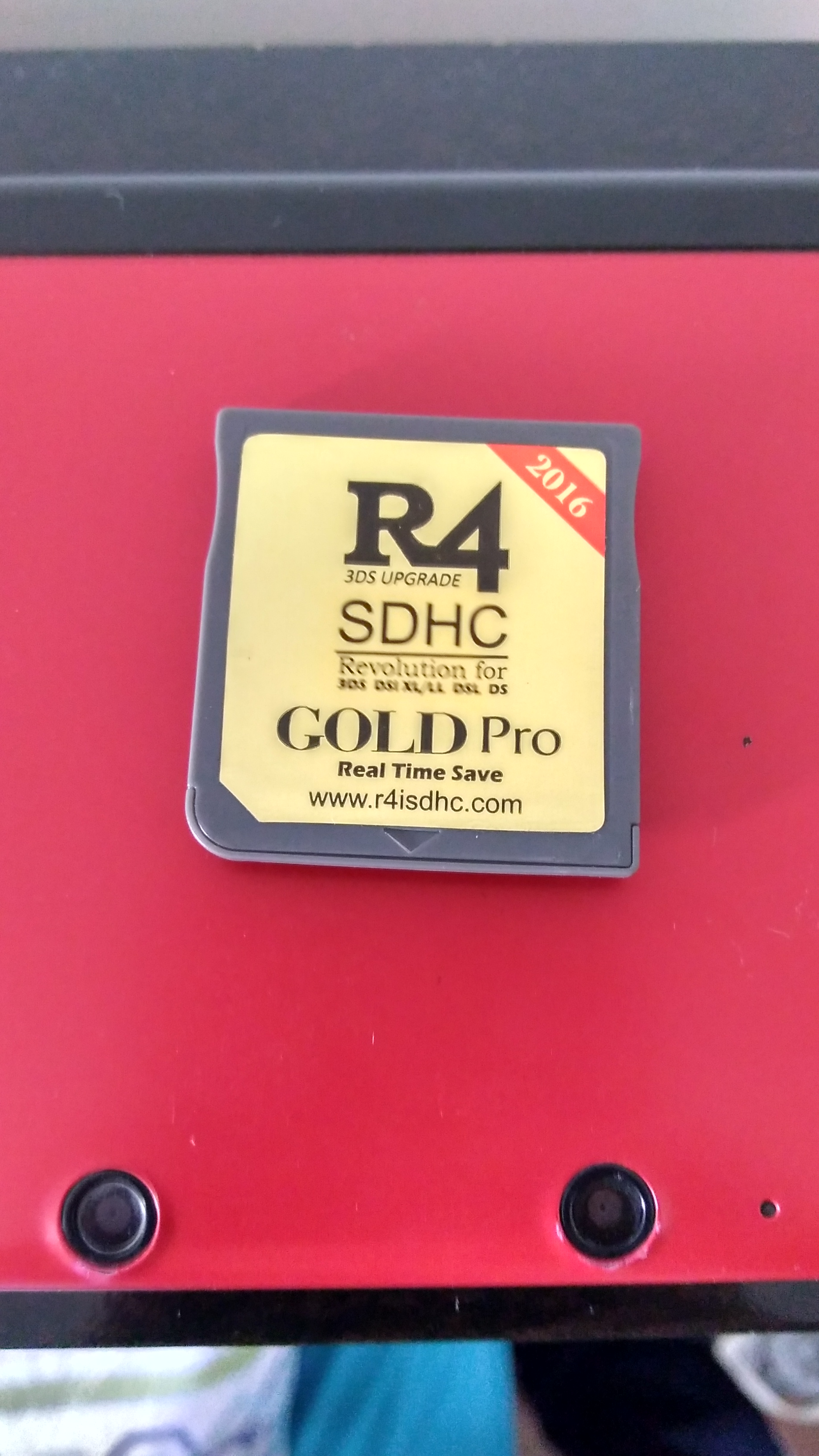 R4i Gold (R4iSDHC com Family) · Issue #11 · ntrteam/flashcart_core