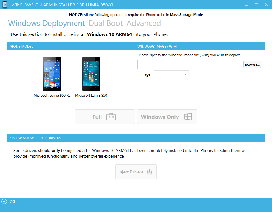 GitHub - imperador/Lumia-WoA-Installer: GUI tool to install Windows