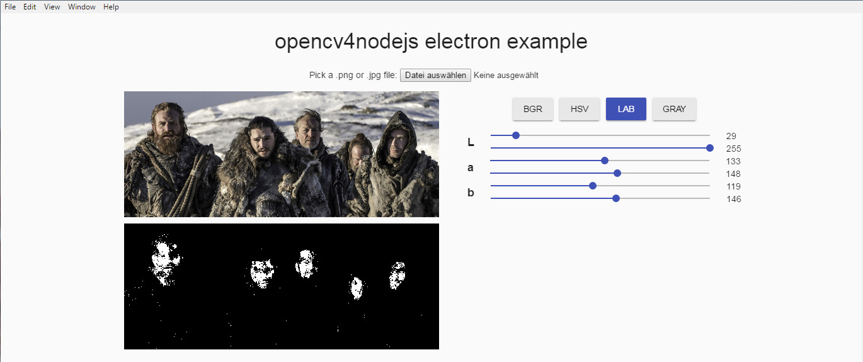 GitHub - justadudewhohacks/opencv-electron: Example for