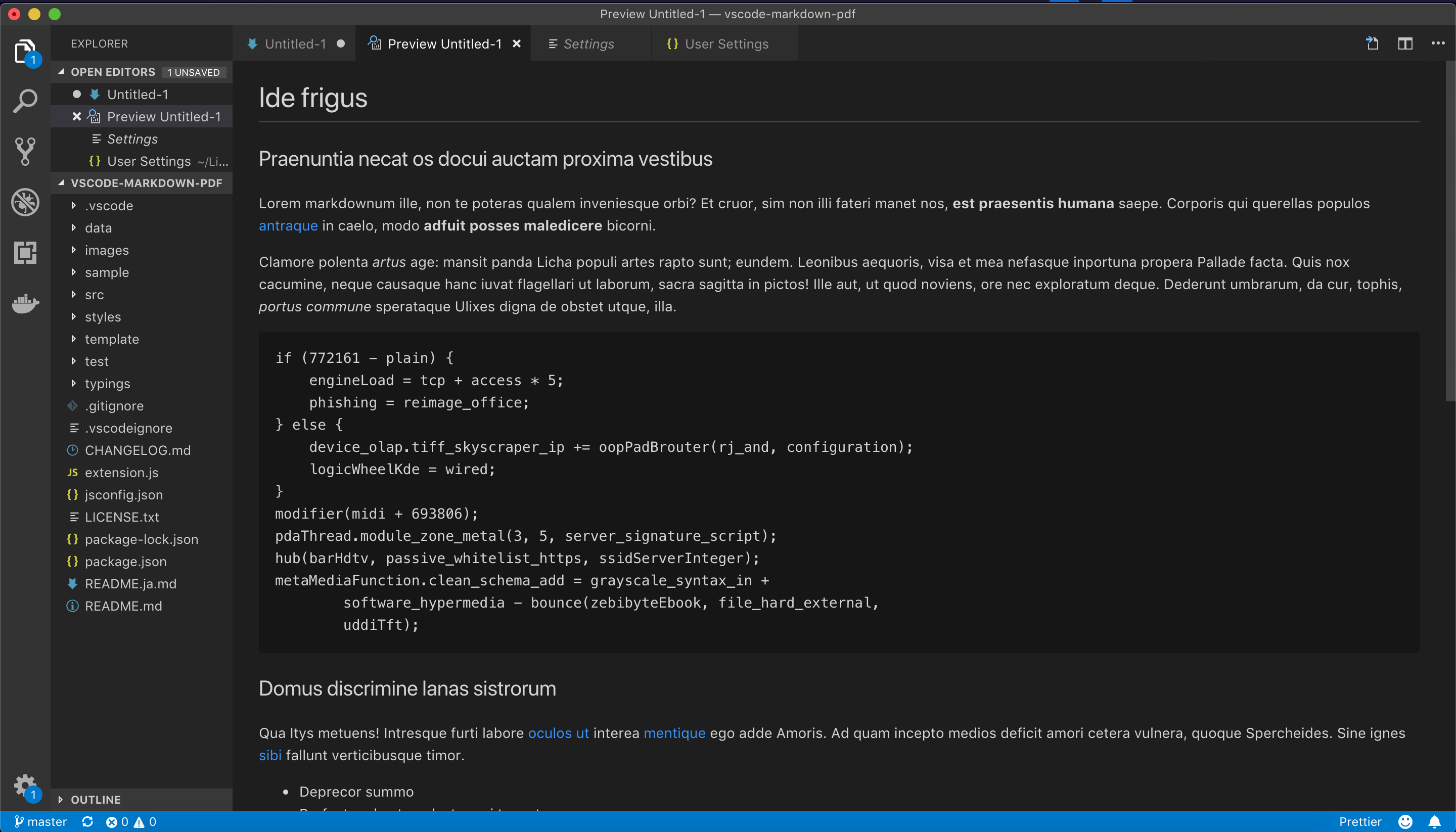 Export using VS Code internal styles · Issue #112 · yzane/vscode