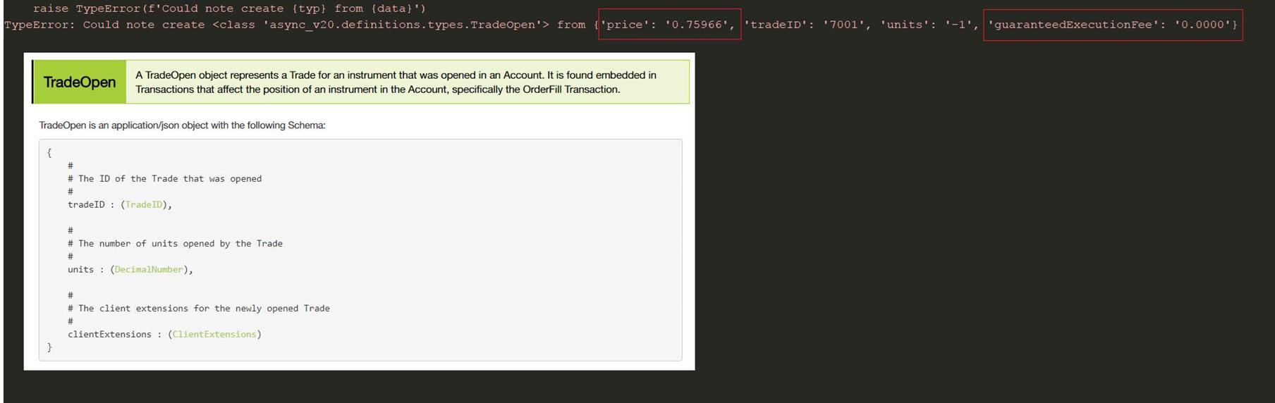 KeyError / Attribute error when parsing OANDA JSON · Issue