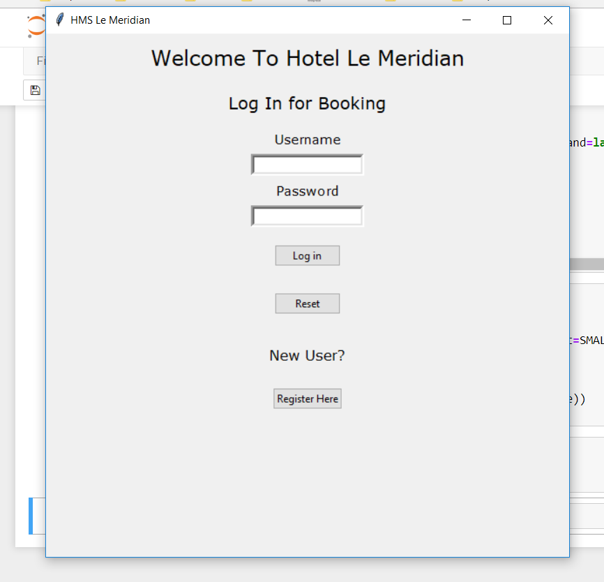 GitHub - francis-xavier/Hotel-Management-System-GUI: Simple