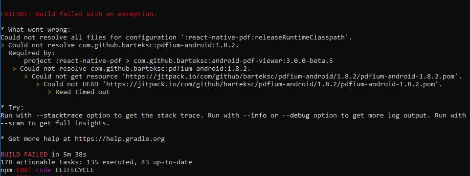 Android Pdf Failure