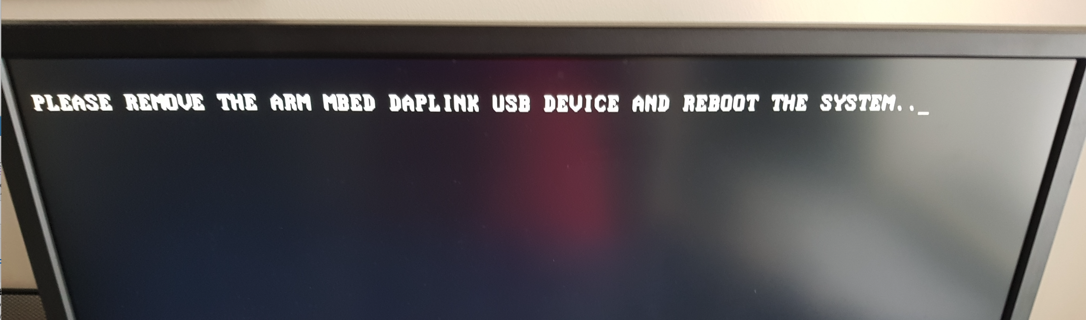 Make bootloader warning message configurable · Issue #639