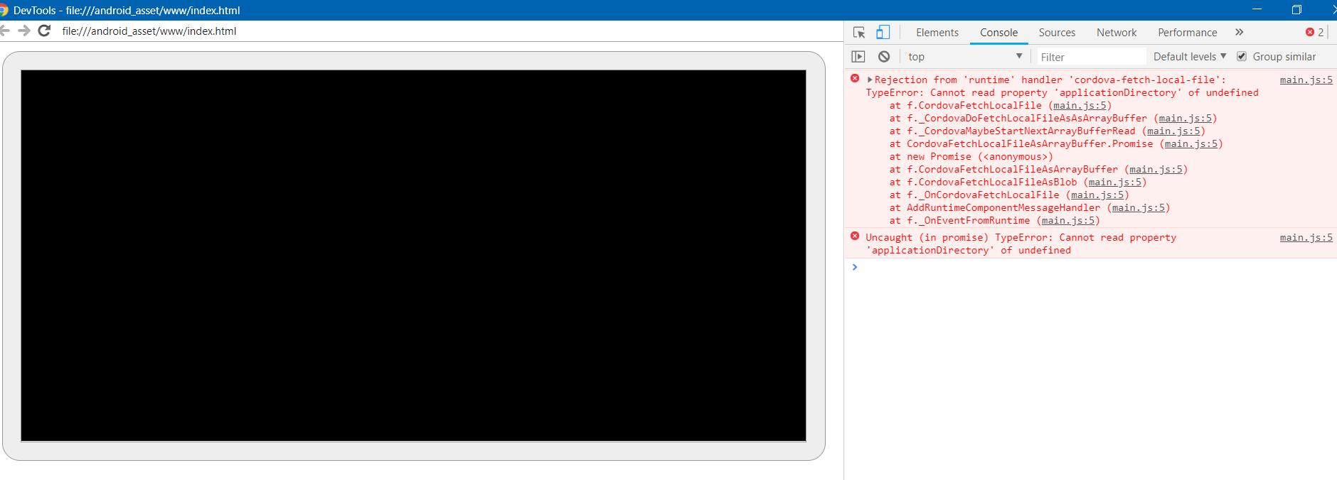 Construct 3 Runtime][SDK][Cordova] Having some on-export