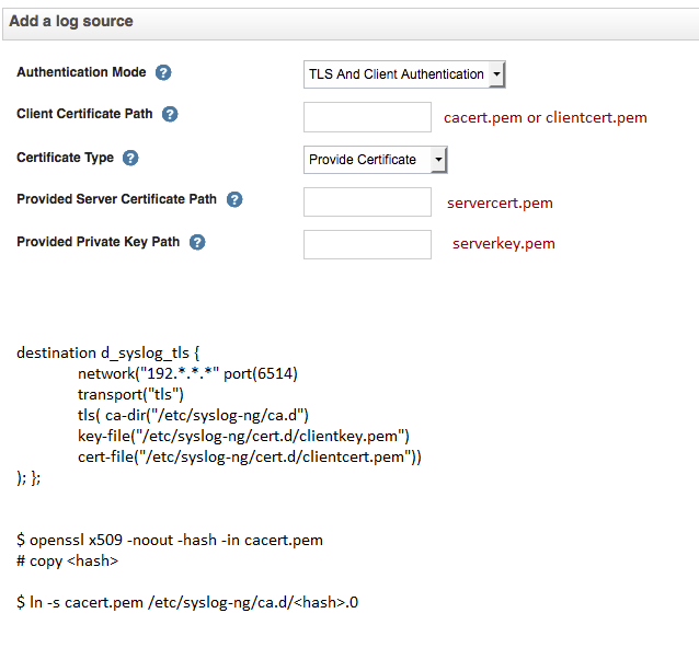 Can not view logs on the Log Server using TLS · Issue #2476