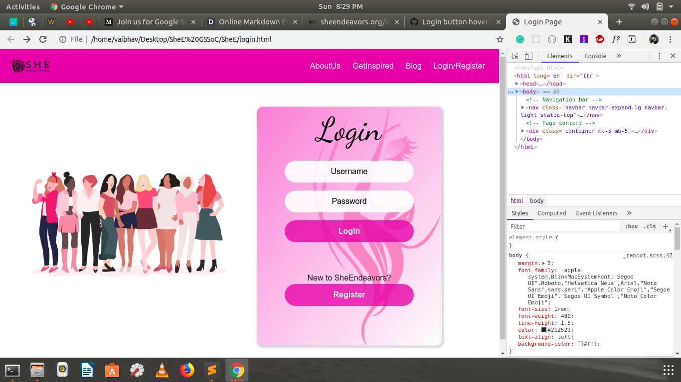Add Responsive to Login Form