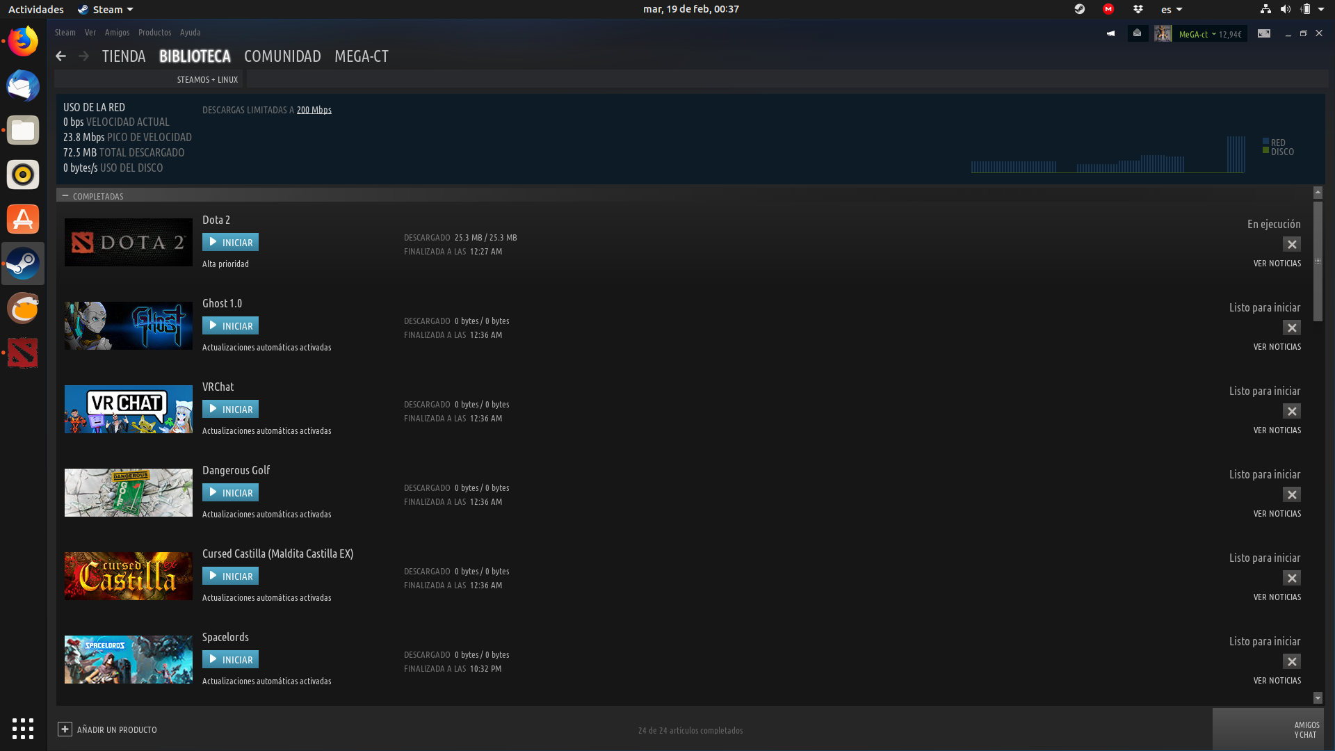 0 bytes updates with proton steam play titles - again