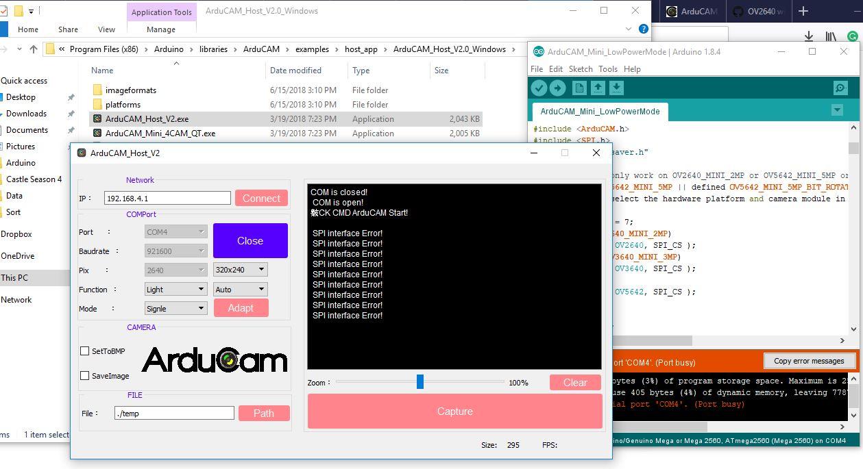 SPI Interface Error · Issue #336 · ArduCAM/Arduino · GitHub