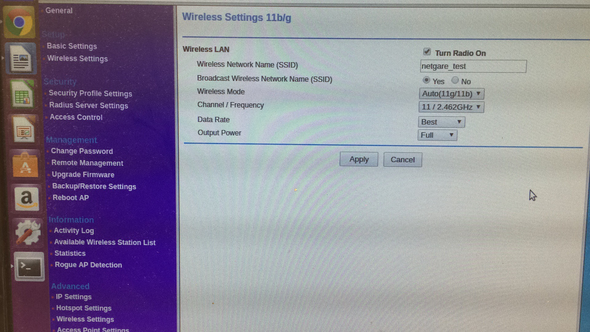 TW#24599] WPA2-Enterprise not possible with an old Netgear