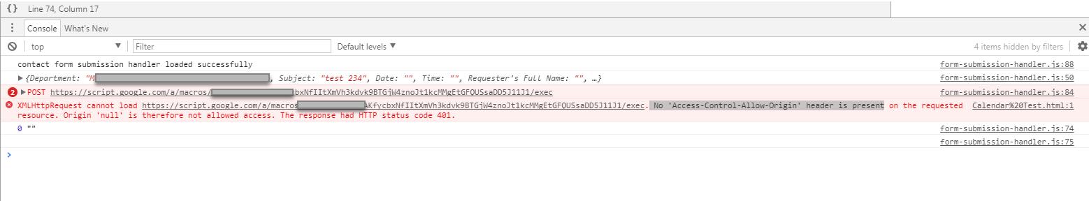 No 'Access-Control-Allow-Origin' header is present · Issue #154