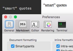 Smartypants Preference Setting Is Ignored Issue 912 Macdownapp
