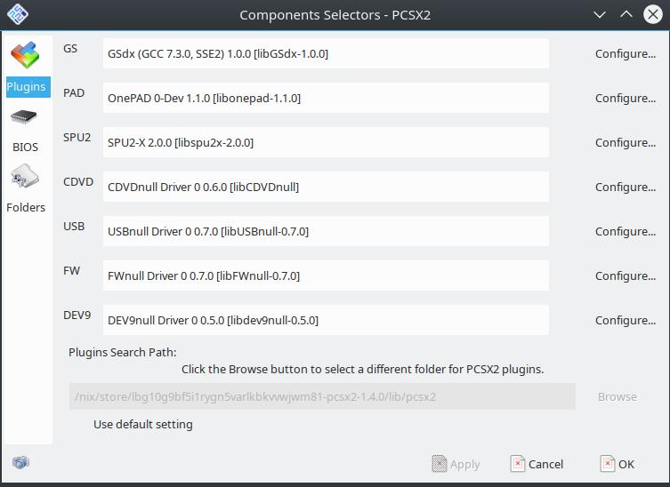 pcsx2: GS plugin failed to open · Issue #40834 · NixOS/nixpkgs · GitHub