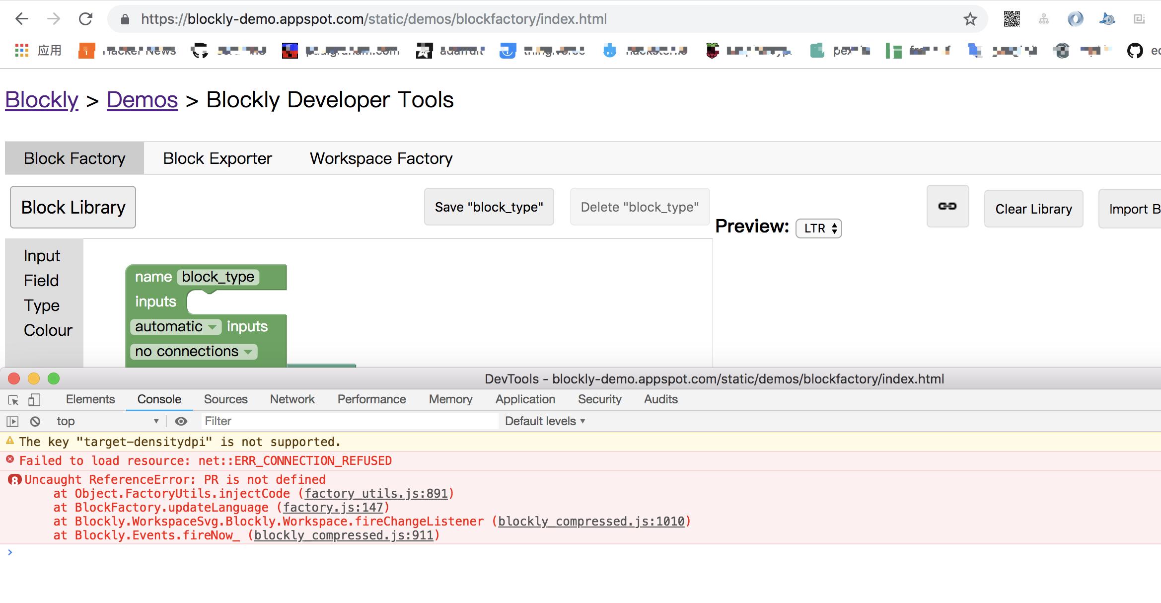 blockfactory error · Issue #2206 · google/blockly · GitHub