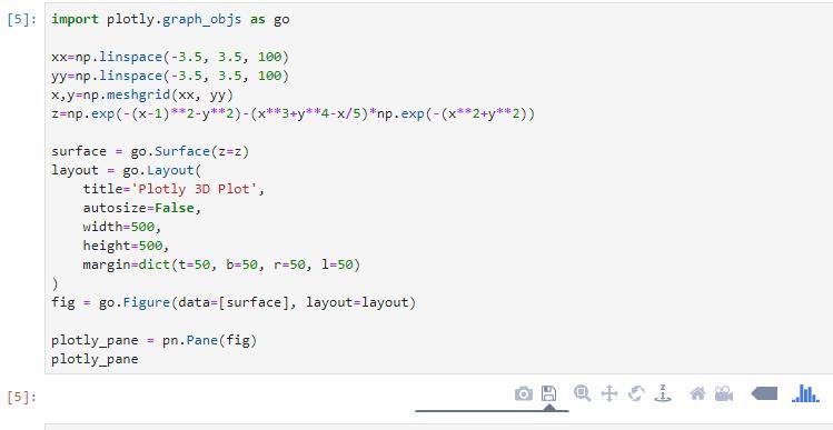 Pane example with plotly · Issue #108 · pyviz/panel · GitHub