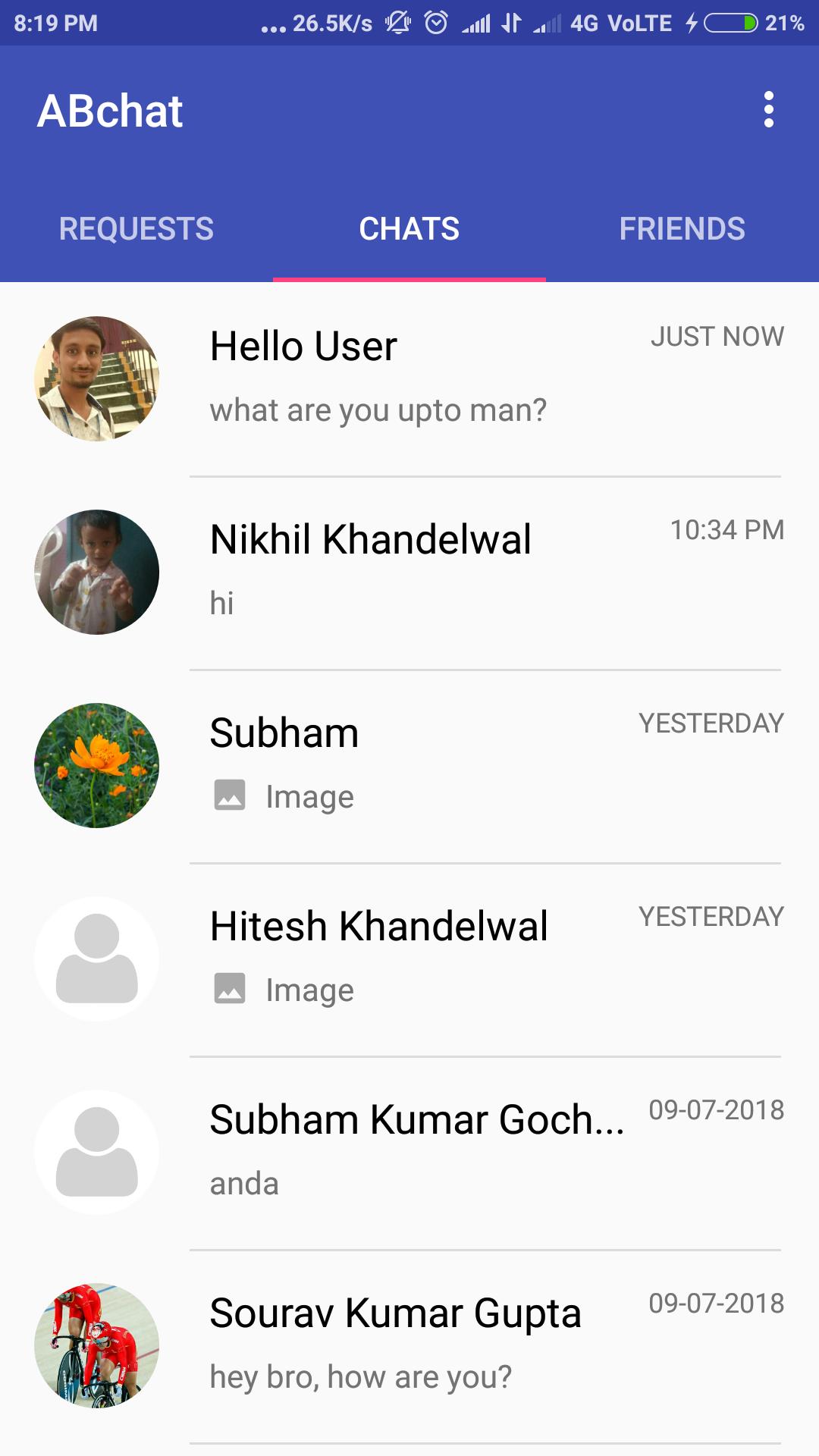 Firebase android github app chat Firebase Chat