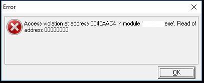 Access Violation Error · Issue #738 · microsoft/WinAppDriver
