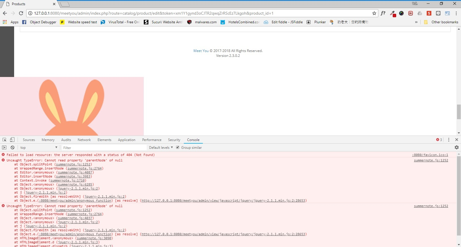 Multiple Summernote error: Uncaught TypeError: Cannot read