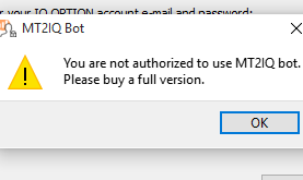 Connect metatrader4 with IQ-Option · Issue #56 · n1nj4z33