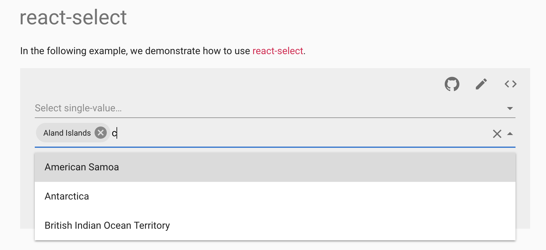 React Multiselect Dropdown With Search