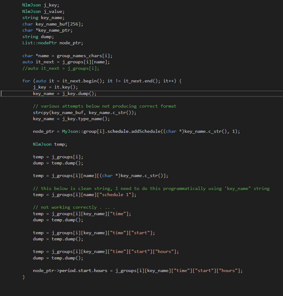 getting clean string from it key() · Issue #748 · nlohmann/json · GitHub