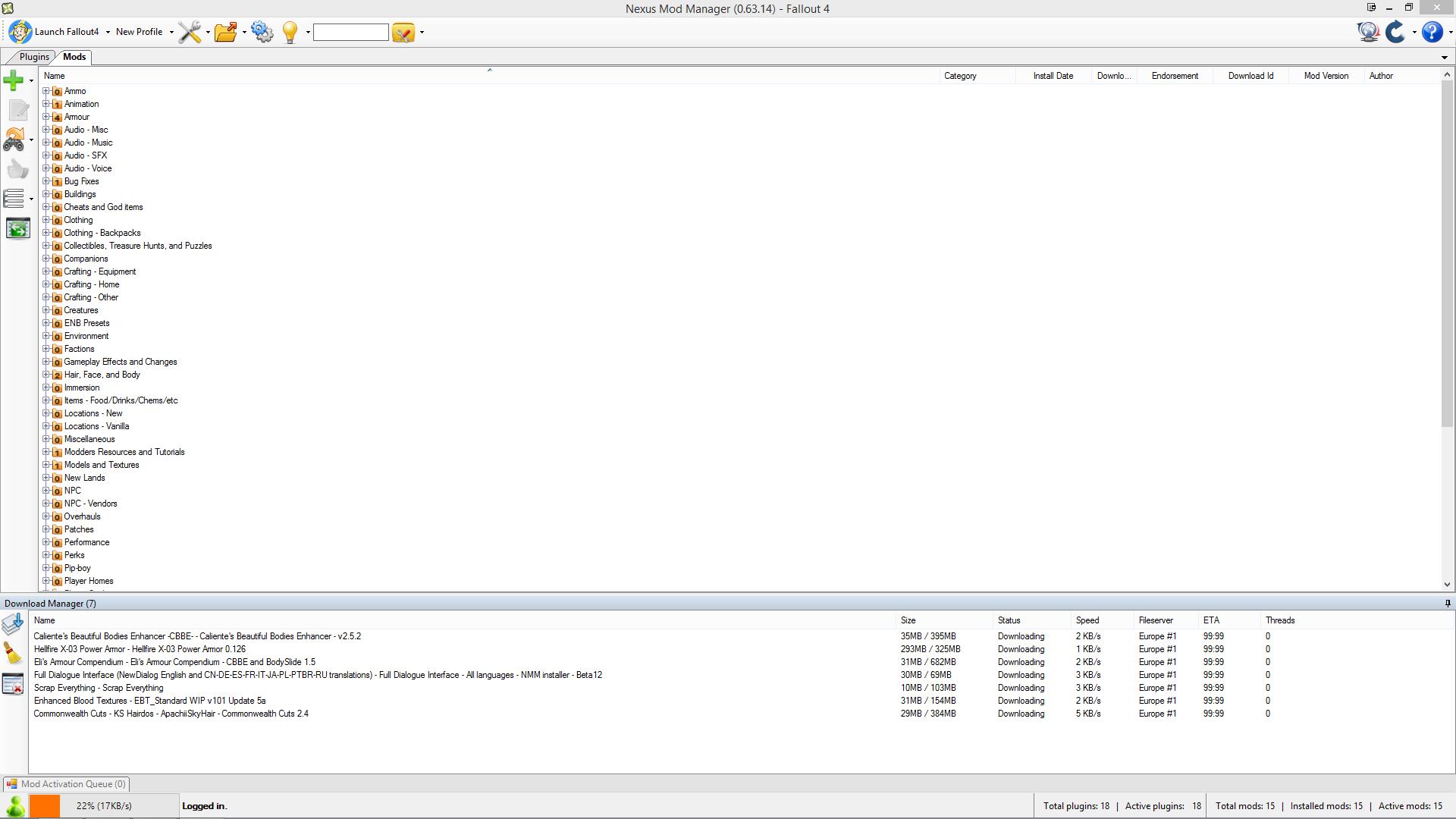 nexus mods download manager