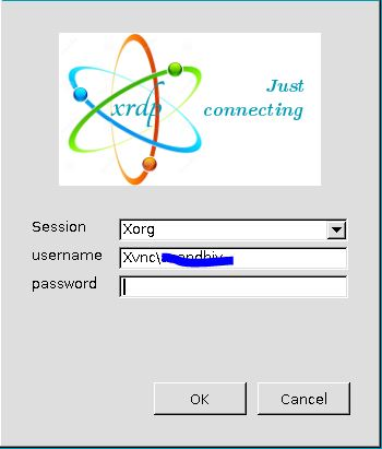 "xvnc"" is always set as the default in the Login-Screen"