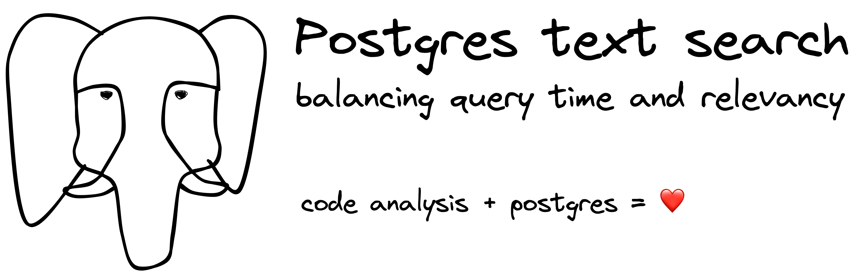 Postgres text search: balancing query time and relevancy