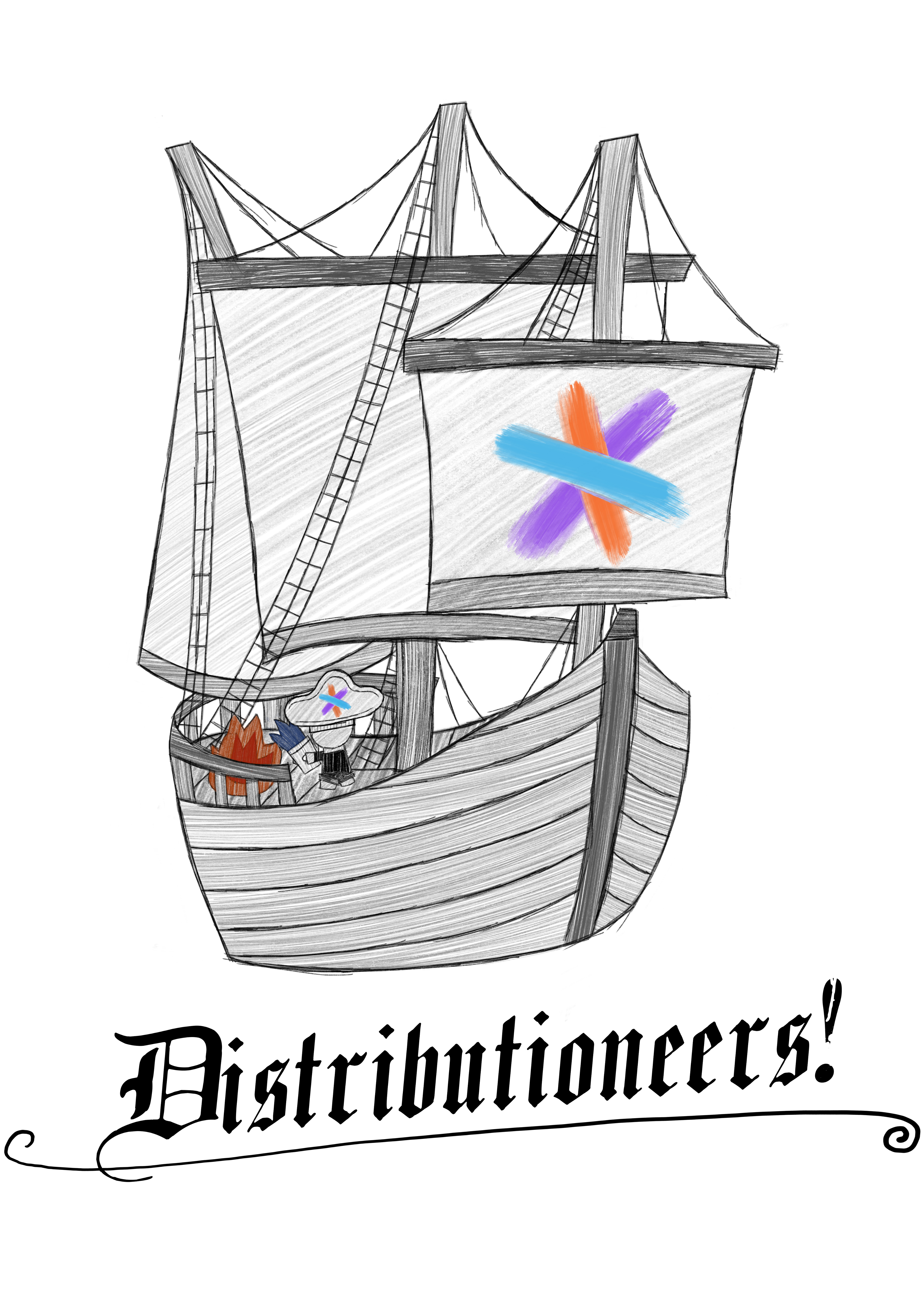 Sourcegraph Distribution team logo