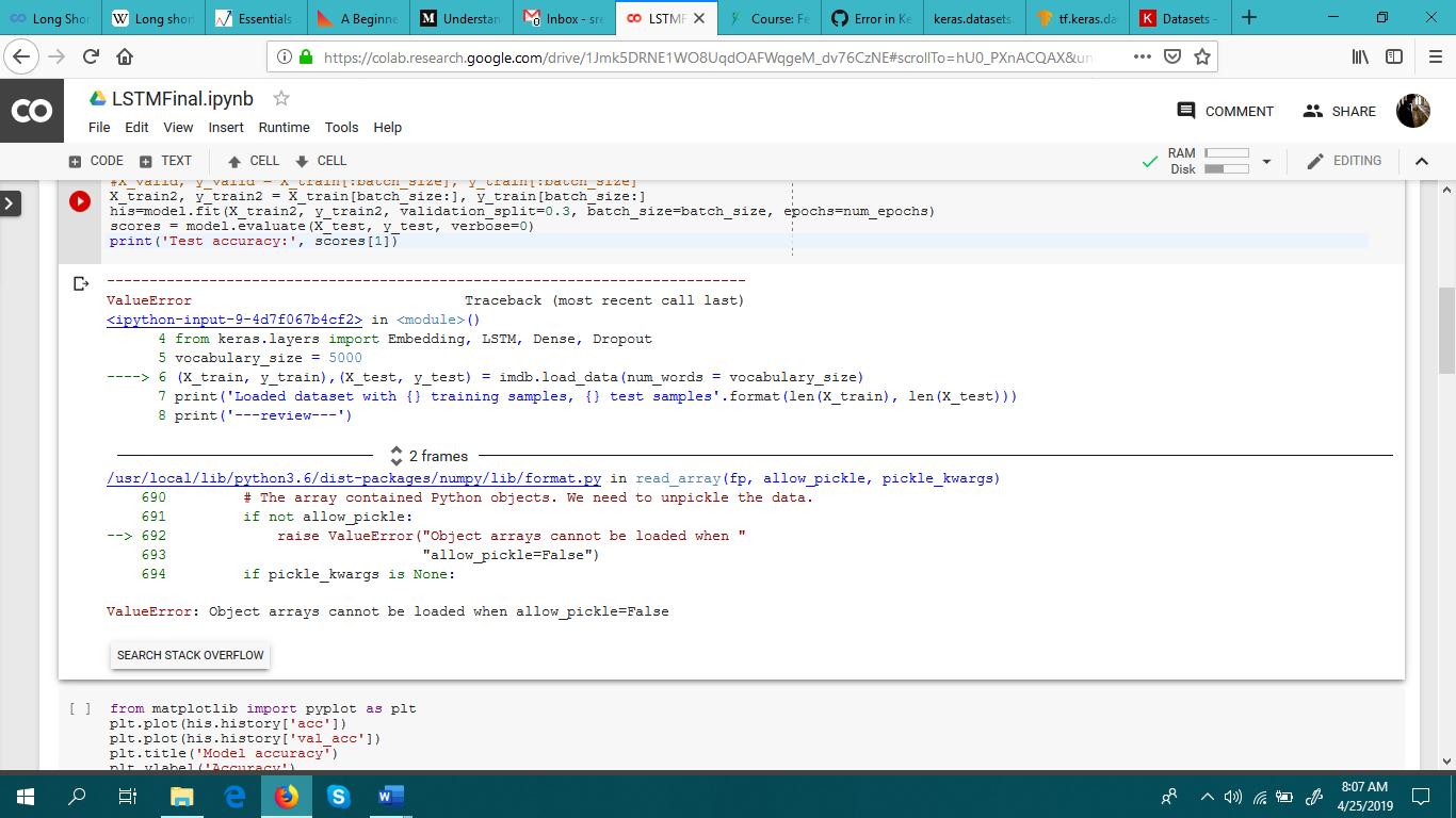 Keras dataset load_model · Issue #527 · googlecolab/colabtools · GitHub