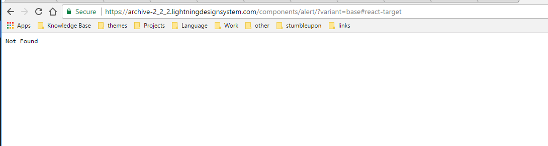 Old Documentation Not Working · Issue #466 · salesforce-ux