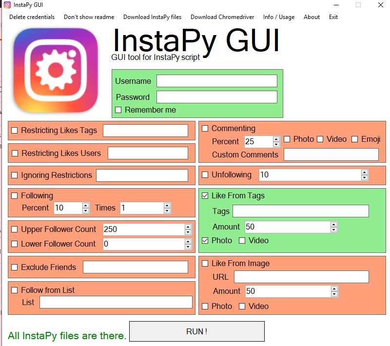 Description of titles in GUI · Issue #637 · timgrossmann