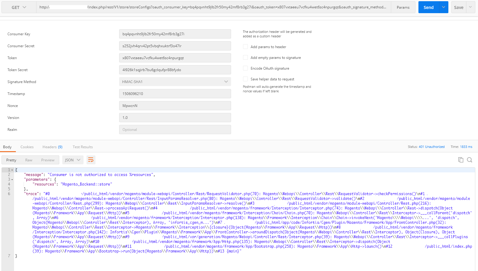 Magento api rest webservice · Issue #11202 · magento