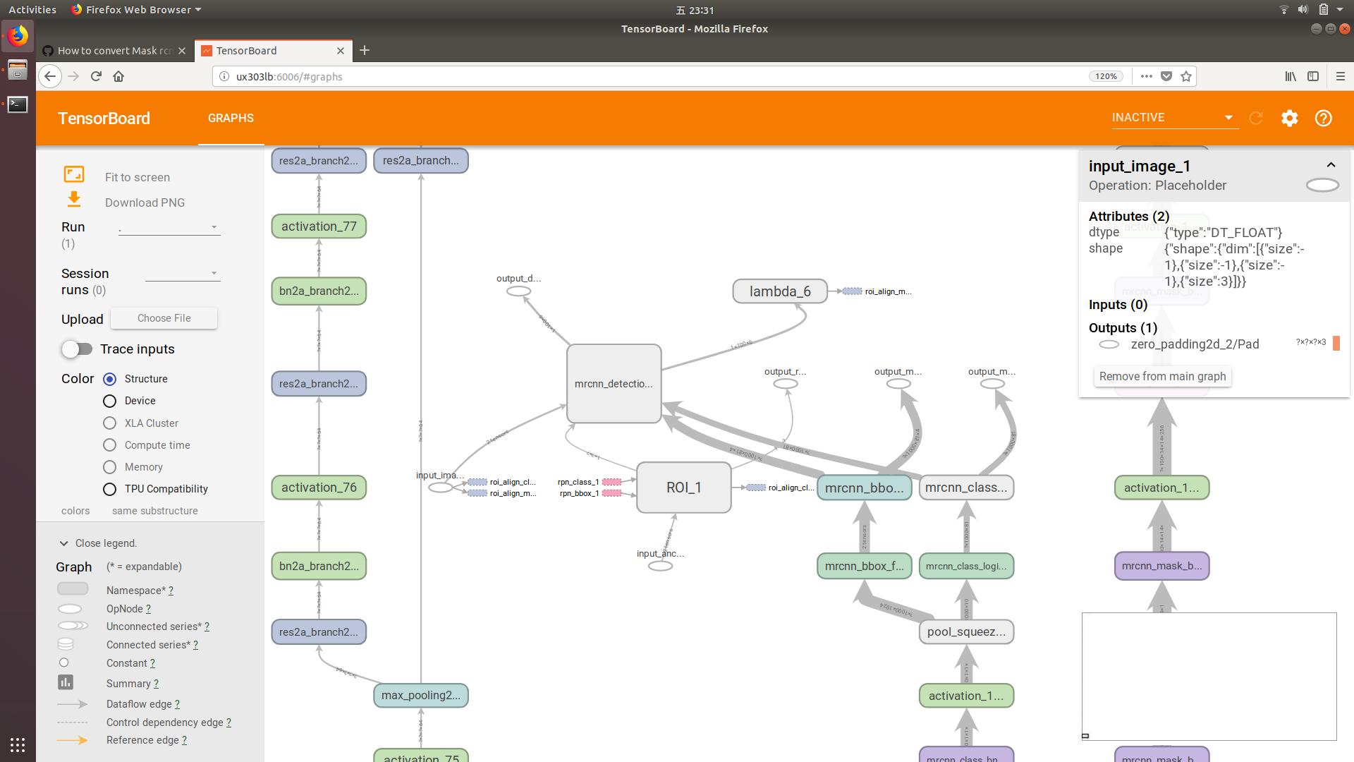 Developers - How to convert Mask rcnn model to Tensorflow  pb -