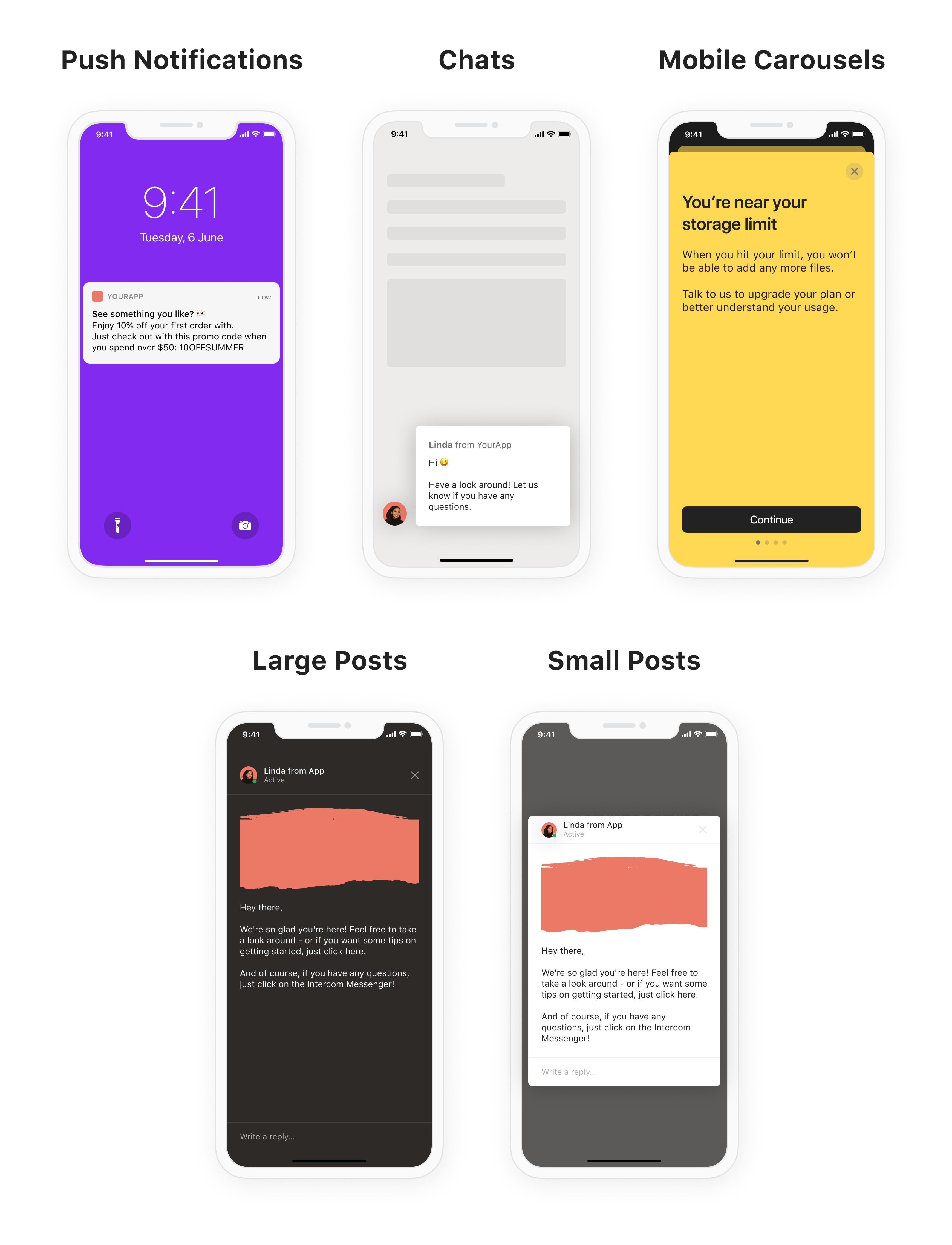 iOS - Content types