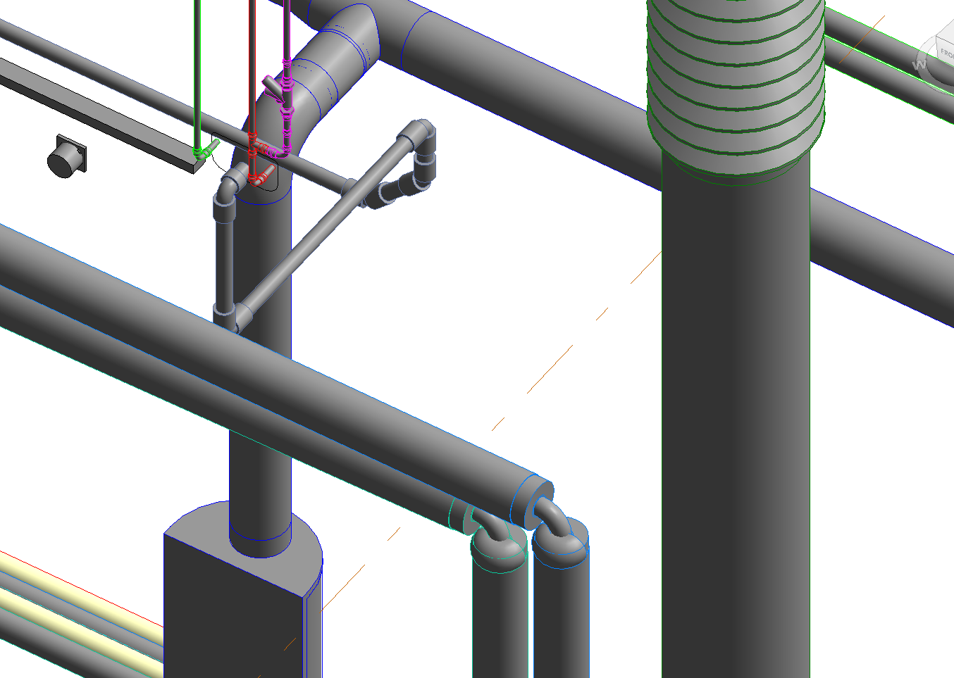 fitting issue 1 revit