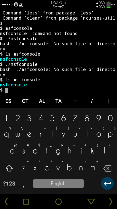 Why msfconsole is not working · Issue #1886 · termux/termux