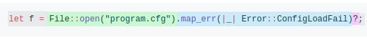 map_err