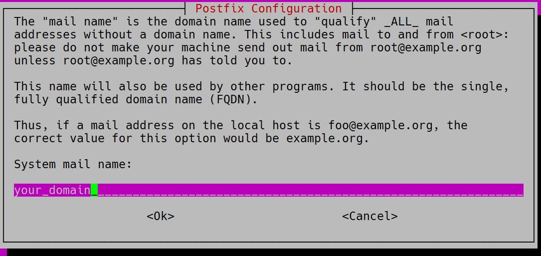 postfix-domain