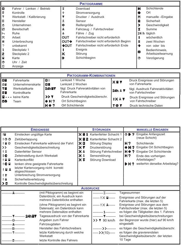 Tachograph Symbols Non Emoji Issue 409 Crissovunicode