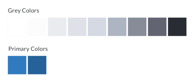 PingPing Color Palettes