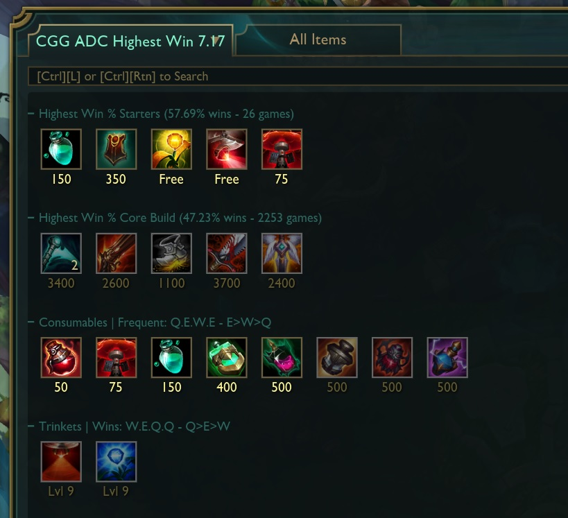 Issue with Item Sets (5 of 6 items displayed) · Issue #337