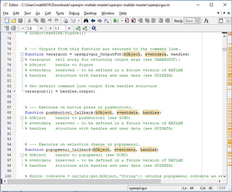 Number of errors in openpivgui · Issue #27 · OpenPIV/openpiv