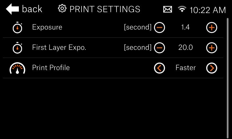 SL1S display screen
