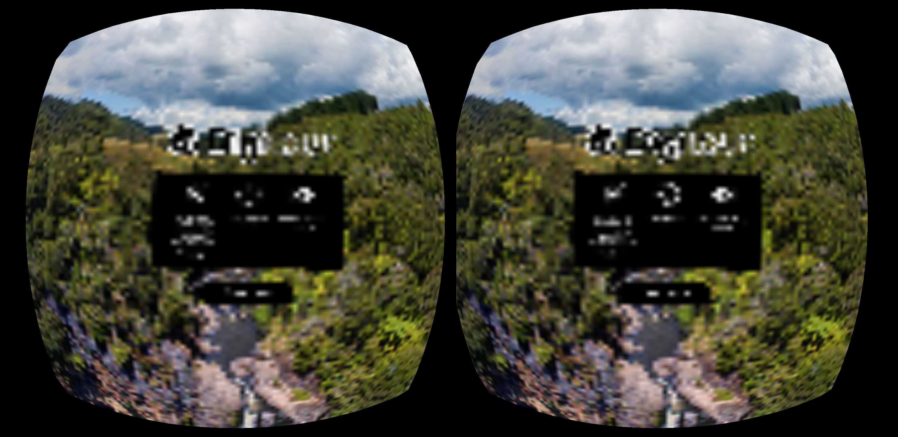Display heavily pixelated image in VR Mode on Oculus Browser