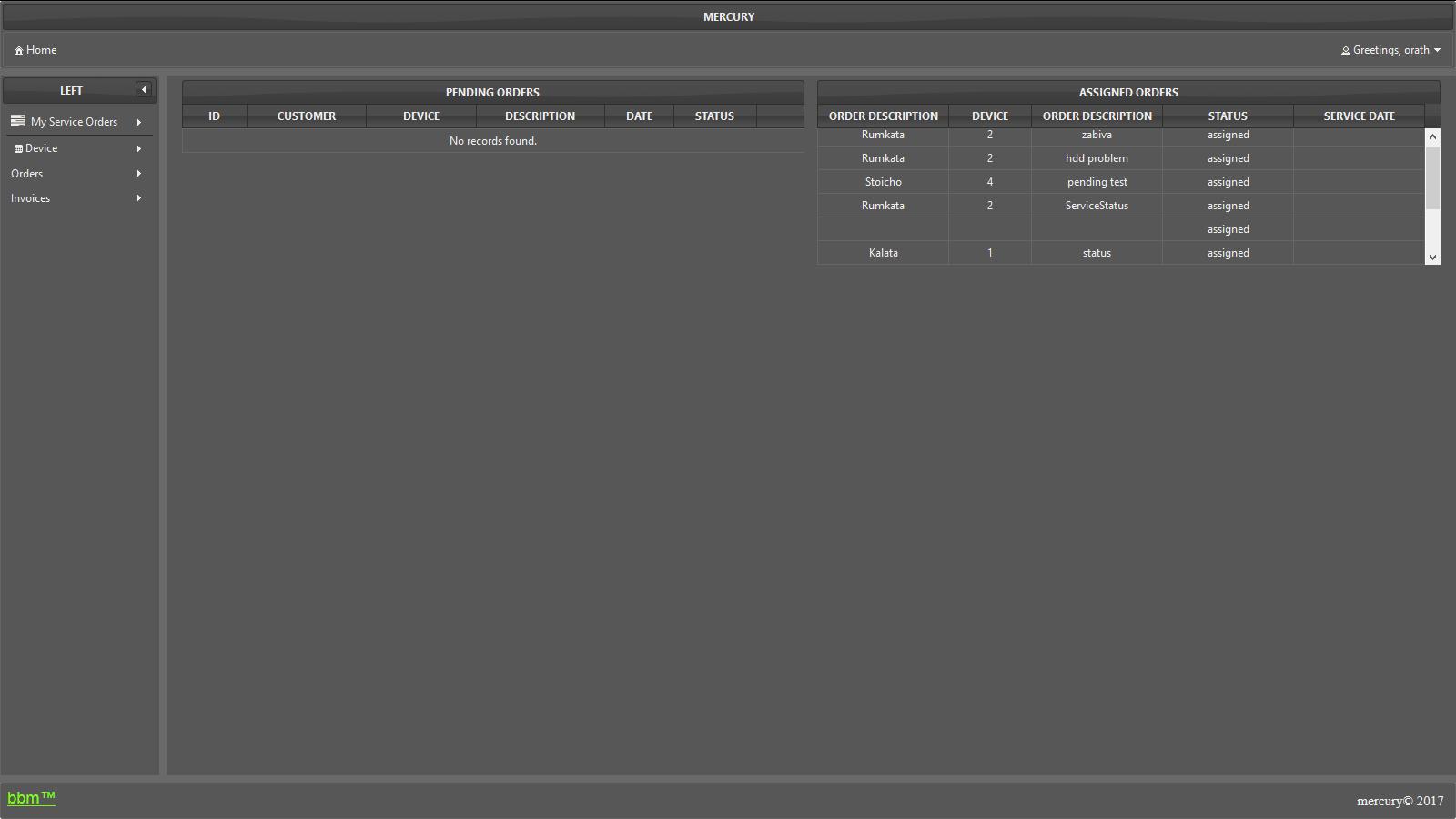 GitHub - DeSsMon7/mercury: Service Software