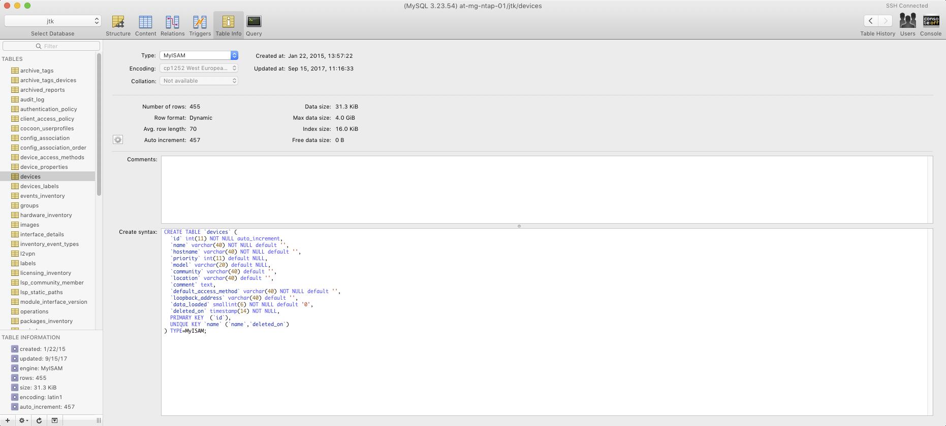 Block `on update current timestamp` behaviour when editing a