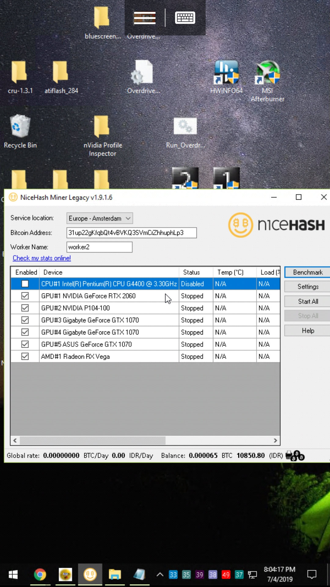 Wrong GPU enumeration for PhoenixMiner AMD · Issue #1615 · nicehash