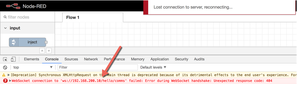 Injecting sidecar breaks websocket connection · Issue #824